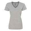 Fruit of the Loom HD Cotton Women's V-Neck T-Shirt - Women's V-neck T-shirt, made of high-density fabric. Blank product.