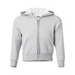 Hanes ComfortBlend® EcoSmart® Youth Full-Zip Hooded Sweat... - Full-zip hooded fleece sweatshirt with up to 5% recycled polyester from plastic bottles.
