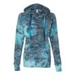MV Sport Women's Courtney Burnout V-Notch Hooded Sweatshirt - Women's burnout v-notch sweatshirt. Blank product.
