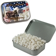 Hinged Mint Tin with Signature Peppermints Breath Mints