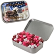 Large Hinged Tin with Candy Hearts