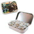 Large Hinged Candy Tin with Sugar Free Gum