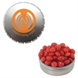 Snap-Top Candy Tin with Cinnamon Red Hots