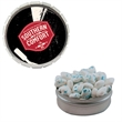 Snap-Top Candy Tin with Sugar-Free Gum