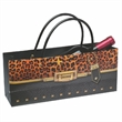 Cheetah Purse Horizontal Wine Bottle Bag