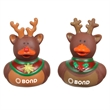 Reindeer Duck - These holiday themed reindeer rubber ducks come wearing assorted styles.