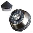 Speedometer World Time Clock - Speedometer shaped, self-standing world time clock.