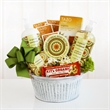 California Delicious Organic Oatmeal Spa - Gift basket filled with organic oatmeal spa items.