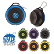 Ring Series Water-Resistant Wireless Speaker - Water-resistant wireless speaker; has carabiner clip, built-in microphone, and four hours of play time.