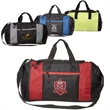 Porter Collection Duffel Bag - Polyester duffel bag with webbed handle, adjustable shoulder strap and various pockets