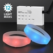 Remote Activated LED Bracelets - Remote Activated LED Bracelets: Blank, No Imprint. With 12 Light Modes, 1,000 Feet Range, Rechargeable Remote.