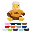 "6"" Liberty Eagle With Shirt - 6"" eagle plush toy"
