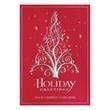 Vine Pine Holiday Greeting Card - Vine Pine Holiday Greeting Card