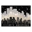 City Skyline Holiday Greeting Card - City Skyline Holiday Greeting Card