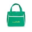 Retro Mini Fashion Tote - Retro style mini tote bag with front slash pocket