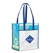 "Vita Laminated Recycled Shopper - Laminated recycled shopper with 26"" shoulder straps."