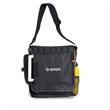 Impact Vertical Computer Messenger Bag - Vertical computer messenger bag with side mesh pocket.