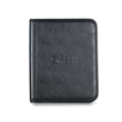 "Element Padfolio - Black simulated leather E-Padfolio with 6"" x 9"" paper pad."