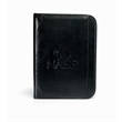 """Vintage Leather Padfolio - Leather E-Padfolio with zippered closure & an 8 1/2"""" x 11"""" paper pad."""