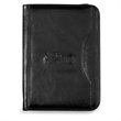Wall Street Padfolio - Smooth, simulated leather padfolio with curved exterior pocket.