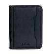 Executive Junior Padfolio - Junior simulated leather padfolio with organizer pockets and pen loop.