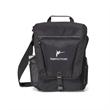Vertex™ Vertical Computer Messenger Bag - Computer messenger bag with zippered main compartment.