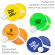 Paddle ball catch game - Suction ball paddle catch game, with two round paddles.