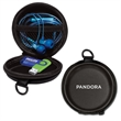 Power Case - Round - Round zippered case for USBs, earbuds and more.