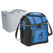 "Coleman 9 Can Soft Side Cooler with Removable Hardside Liner - 10 1/4"" x 9 1/2"" x 6 3/4"" nine-can cooler with soft sides, shoulder strap and removable hard-side liner from Coleman"