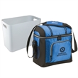 "Coleman 16 Can Soft Side Cooler with Removable Hard Liner - 11 3/4"" W x 11 3/4"" H x 6 3/4"" D 16-can cooler with soft sides, hard-side liner, shoulder strap from Coleman"
