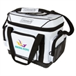 "Coleman 36 Hour (42 Can) Marine Soft Side Cooler - 18 1/2"" x 13 7/8"" x 11 1/8"" 42-can soft side cooler with antimicrobial liner, zipper closure and shoulder strap from Coleman®"
