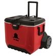 55 Quart (84 Can) Rugged All Terrain Wheeled Cooler - 55 Quart (84 Can) Rugged All Terrain Wheeled Cooler
