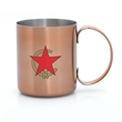 DAMON 12 OZ MOSCOW MULE MUG - 12 oz. Copper Coated Moscow Mule Mug  Copper Coated Exterior with Stainless Steel Interior 12 oz. Capacity Use for Beer or Coffee