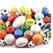 Squeezable Football Soccer Pu Beach Ball,Stress Reliever