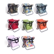 Folding Ice Bag Chair,Camping Chair with Ice Tote Bag