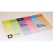 "Custom Printed Organizational Post-it Notes (10""x6"") 25 Sht - Organizational Post-it Notes (10"" x 6"") 25 Sheets, 4 color."