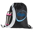 Double Color Drawstring with Bottle Holder