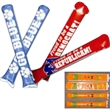 Noise sticks - Inflatable noise sticks available in an assortment of colors