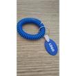 Plastic Springs Bracelet With Tag