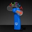 Logo Light Message Fan with 24 LEDs - Blue