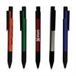 Pillar Pen - Plastic matte metallic barrel pen.