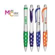 Jupiter Pen - Plastic barrel ball point pen with rubber grip