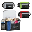 """Wasabi Cooler / Lunch Bag - 6"""" x 7"""" x 10"""" Wasabi cooler and lunch bag with heat-sealed PEVA lining and foam padding; includes 1"""" x 28"""" carrying strap."""