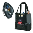 iCOOL® 36-Can Cooler Tote - 36-can cooler tote bag with PEVA lining and water resistant base; includes carrying straps with padded handle.