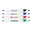 Silhouette Retractable Ballpoint Pen with Blue Ink