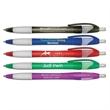 Silhouette Translucent Retractable Ballpoint Pen