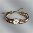 Multi Rope Bracelet with one Charm - Multi Rope Bracelet with one Charm