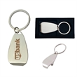 Chrome Bottle Opener with Key Ring and Gift Case