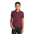 Port Authority Youth Core Classic Pique Polo. - Port Authority Youth Core Classic Pique Polo.