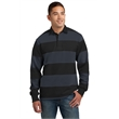 Sport-Tek Classic Long Sleeve Rugby Polo. - Sport-Tek Classic Long Sleeve Rugby Polo.